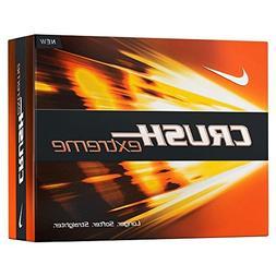 12 Nike Crush Extreme Golf Balls White