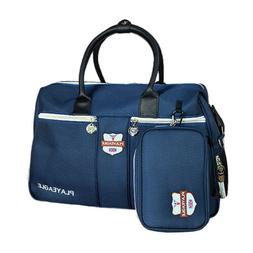 Large Capacity Golf Boston Bag & Pouch for Clothing, Shoes,