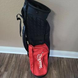 Titleist 2 Way Foldable Lightweight Carry Sunday Golf Bag Re