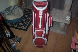 Nike 2014 Sport II Cart Bag White-University Red-Black