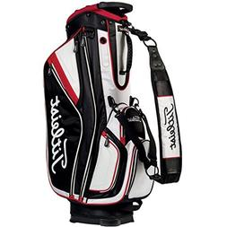 Titleist 2015 Lightweight Staff Bag Black/White/Red TB5LTSF0