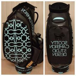 Scotty Cameron 2015 Tiffany SC Dog Pattern Staff Bag Tour St