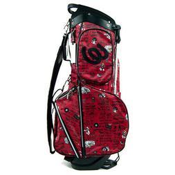 2017 MU Sports Women 703V4103 Stand Bag Red NEW