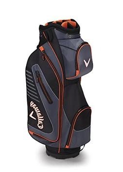 Callaway Golf 2017 Capital Cart Bag, Black/Charcoal/Orange