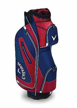 Callaway Golf 2017 Capital Cart Bag, Navy/Red/Charcoal