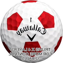 New 2018 Callaway Chrome Soft X Golf Balls - Made in the USA