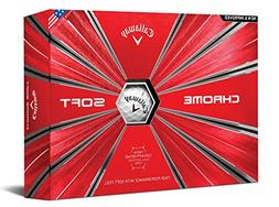 Callaway Golf Chrome Soft Golf Balls, , White