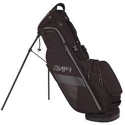 PING 2018 Hoofer Lite Carry Stand Golf Bag, Black