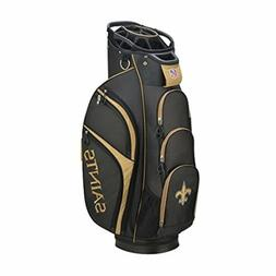 Wilson 2018 NFL Golf Cart Bag, New Orleans Saints