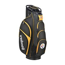 Wilson 2018 NFL Golf Cart Bag, Pittsburgh Steelers