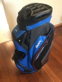 2018 Ping Pioneer Mens Cart Golf Bag New Blue/Black/Red