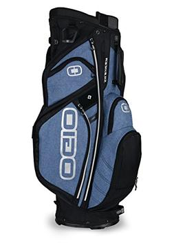 OGIO 2018 Silencer Cart Bag, Blue Static