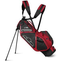 Sun Mountain 2019 3.5 Ls Stand Bag Charcoal/Red