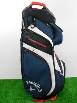 Callaway 2019 Custom ORG 14 Golf Cart Bag W CC Logo Red/Blue