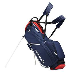 2019 TaylorMade Flextech Crossover Golf Stand Bag Navy/Red/W