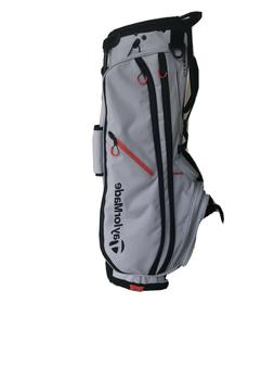 TaylorMade 2019 FlexTech Crossover Stand Bag Silver Gray/ Bl