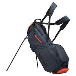 2019 TaylorMade Flextech Golf Stand Bag Titanium/Blood Orang