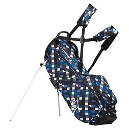 2019 TaylorMade Flextech Lifestyle Stand Golf Bag - Checks -