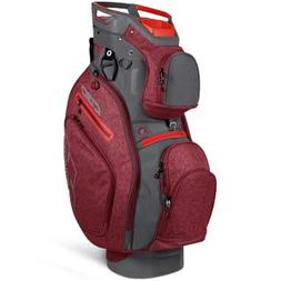Sun Mountain 2019 Golf C-130 Cart Bag - Chili-Gunmetal