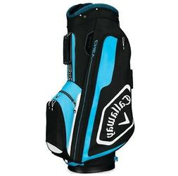 2019 Callaway Golf Chev Cart Bag - Black/Blue/White
