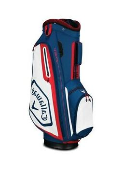 2019 Callaway Golf Chev Cart Bag - Navy/White/Red