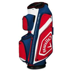 2019 Callaway Golf Chev Org Cart Bag - Navy/White/Red