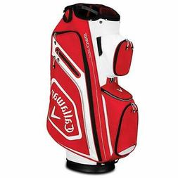 2019 Callaway Golf Chev Org Cart Bag - Red/White/Black