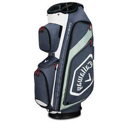 2019 Callaway Golf Chev Org Cart Bag - Titanium/White/Silver
