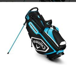 2019 Callaway Golf Chev Stand Stand Bag - Black/Blue/White,