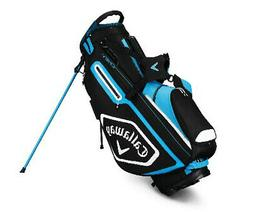 2019 Callaway Golf Chev Stand Stand Bag - Black/Blue/White