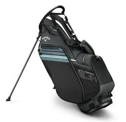 2019 Callaway Golf Hyper- Lite 3 Stand Bag - Black/White/Blu