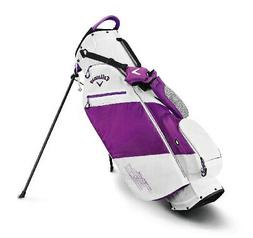 2019 Callaway Golf Hyper- Lite Stand Bag - White/Purple/Blac