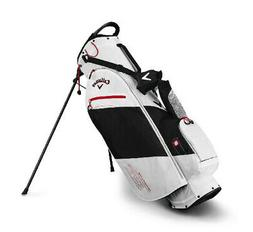 2019 Callaway Golf Hyper- Lite Stand Bag - White/Black/Red
