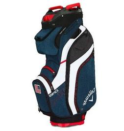 2019 Callaway Golf Org 14 Cart Bag - Navy/White/Red Flag