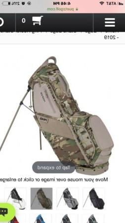2019 PING Hoofer Carry Stand Golf Bag - CAMO!!