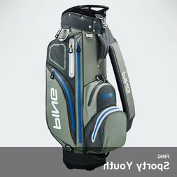 Ping 2019 Sporty Youth Golf Club Cart Bag 9In 5lb Free EMS L