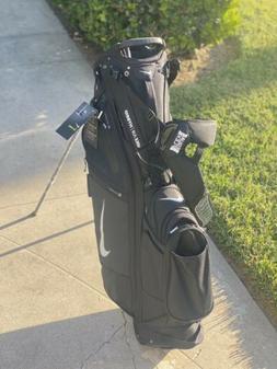 "Nike 2020 Air Hybrid Golf Stand Bag 10"" 14Way 6.4lb Black"