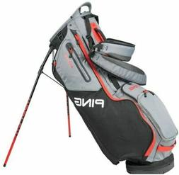 PING 2020 Hoofer 14 Way Golf Stand Bag Black Gary Scalet