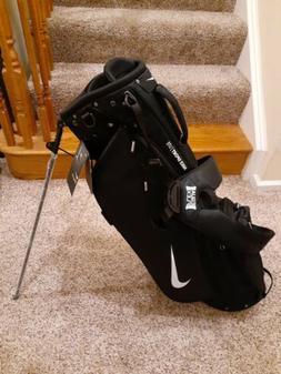 Nike 2020 Sport Lite Golf Bag Black Stand Dual Strap Carry