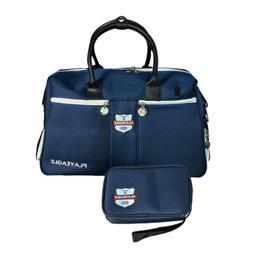 2 in 1 Golf Boston Bag & Equipment Small Pouch Duffle Sport