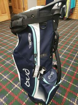 Ping 4 Series Stand Bag Navy/Aqua/White NEW
