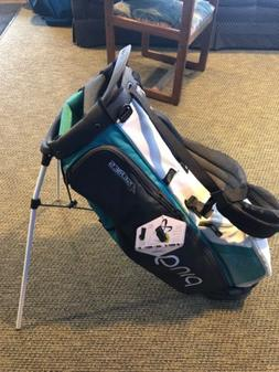 ping 4 series stand bag White And Teal