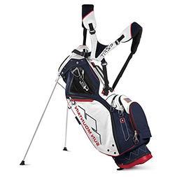 2017 Sun Mountain 4.5 LS Golf Stand Bag - Navy/White/Red, Ne