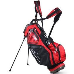 Sun Mountain Unisex 5LS Black-Red-White Carry Bag, Golf Bag