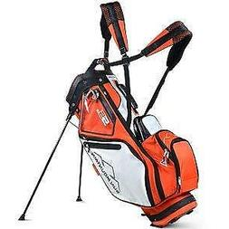 Sun Mountain 5LS Stand Golf Bag, Orange/White/Black