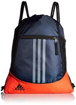 Men Womens adidas Alliance Sack Pack Drawstring Gym Bags Bac