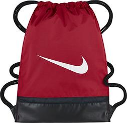 NIKE Brasilia Gymsack, University Red/Black/White, One Size