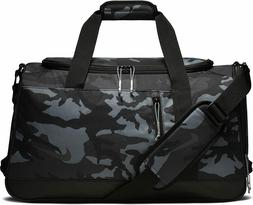 NIKE Sport All Over Print Golf Duffel Bag, Anthracite/Black