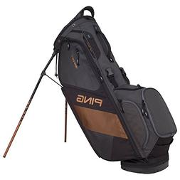 PING 2018 Hoofer 14 Carry Stand Golf Bag, Black/Graphite/Can