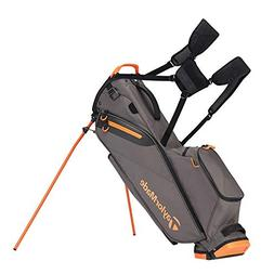 TaylorMade Golf Flextech Lite Stand Bag Gray/Orange